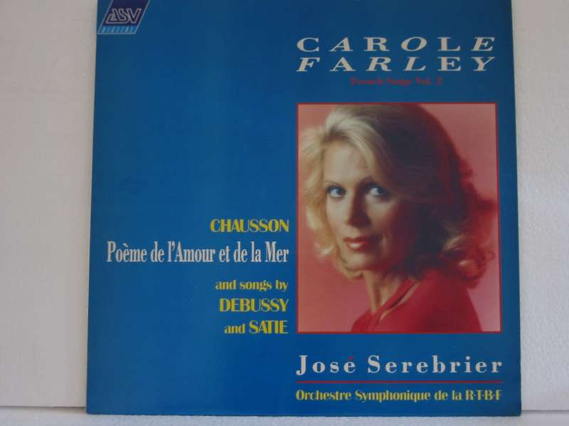 Debussy / Satie Songs by Carole Farley